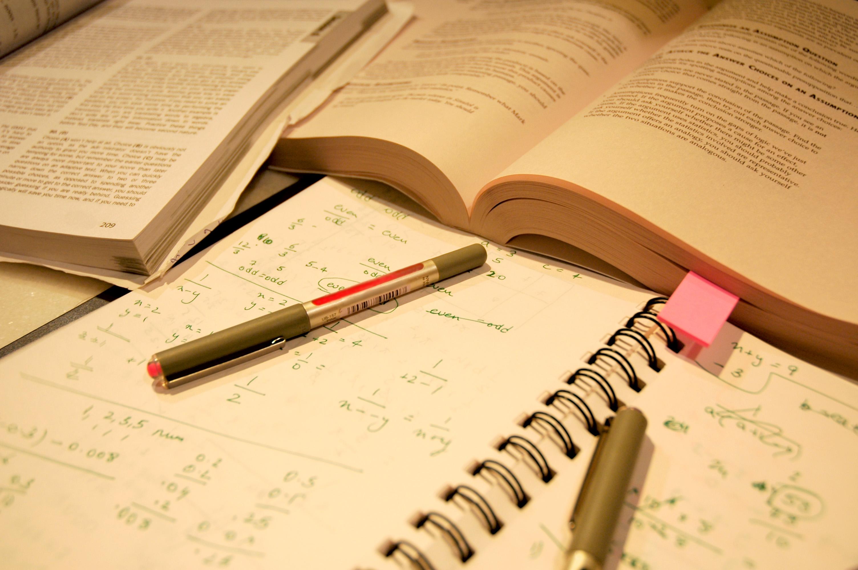 book & math